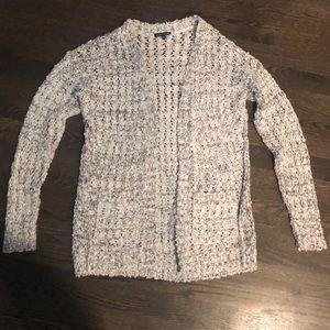 Warehouse of London gray cardigan sweater size 4